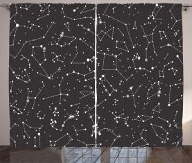 Sternbilder Horoskop Vorhang