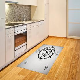 Abstrakte Kreise Teppich
