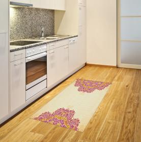 Henna inspiriert traditionell Teppich