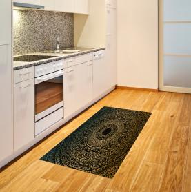 Kaleidoskopisches Universum Zeichen Teppich