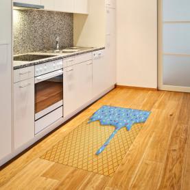 Süße Waffel Teppich