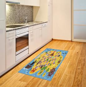 Piratenschatz Teppich