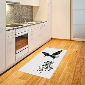 Kolibri-Herz Teppich