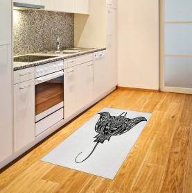 Cramp Fisch Stammes-Stil Teppich