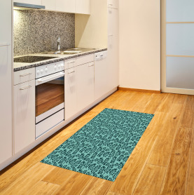 Blatt Natur Teppich