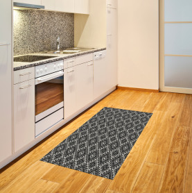 Tribal minimalistische Grafik Teppich