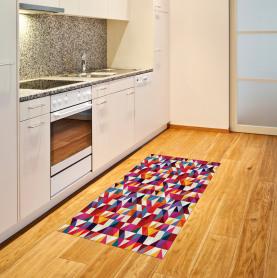 Bauhaus-Art-Muster Teppich