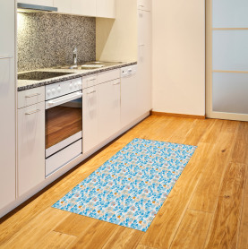 Dandelions and Leaves Area Rug