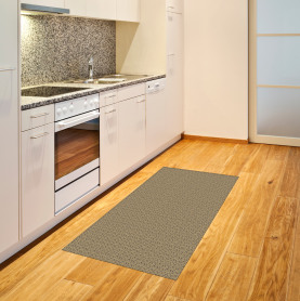 Abstrakte Labyrinth-Form Teppich