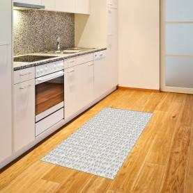 Pastell blühende Anemone Teppich