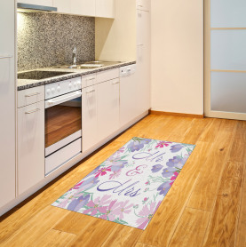 Colorful Flower Blooms Area Rug