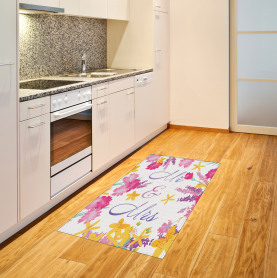 Colorful Wedding Flowers Area Rug