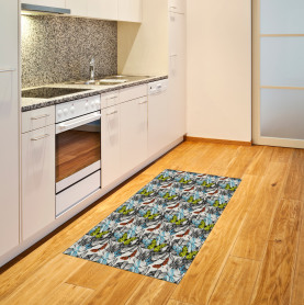 Blooms Roses Butterflies Area Rug
