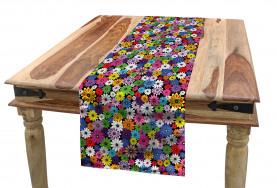 Floral Vivid Daisies Table Runner