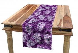 Hydrangea Lilacs Field Table Runner