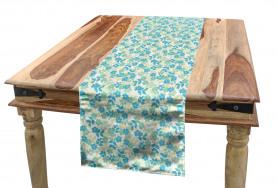 Nostalgic Flower Summer Table Runner
