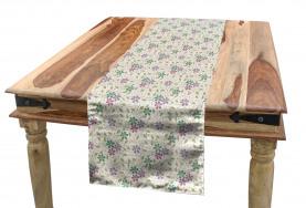 Abstract Flora Romance Table Runner
