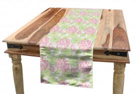 Dandelion Flower Pattern Table Runner