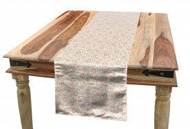 Old Fashioned Floral Table Runner