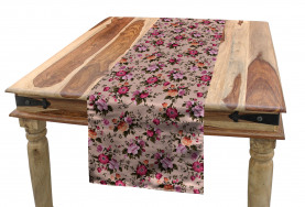 Floral Pattern with Rose Table Runner