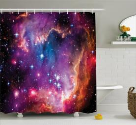 Magellansche Wolkensterne Duschvorhang