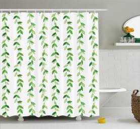 Vivid Aquarell wirbelt Duschvorhang