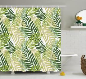 Tropische exotische Palmen Duschvorhang