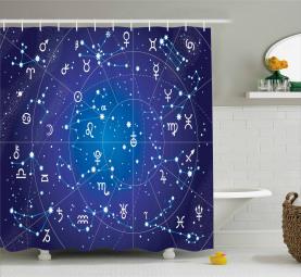 Sternbild Sternzeichen Duschvorhang