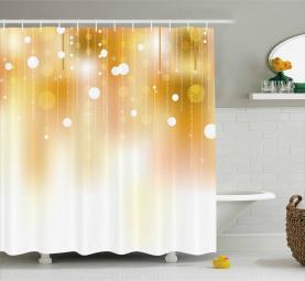 Nobles Weihnachtsdesign Duschvorhang