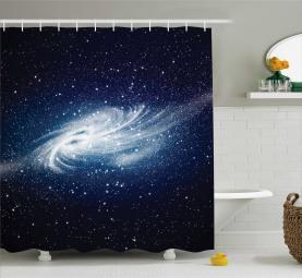 Milchstraße Galaxy Space Duschvorhang