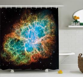 Supernova Sterne Kosmos Duschvorhang