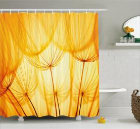 Dandelion Summer Garden Shower Curtain