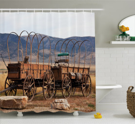 Western Style Shower Curtain