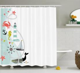 Ornate Border Design Shower Curtain
