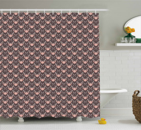 Hipster Pattern with Arrows Shower Curtain