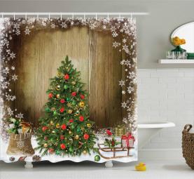 Kiefer-Geschenke Duschvorhang