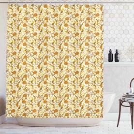 Magnolien im Barockstil Duschvorhang