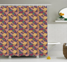 Funky African Boho Shower Curtain