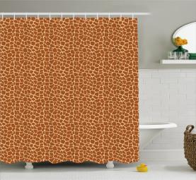 Giraffen-Haut-Druck Duschvorhang
