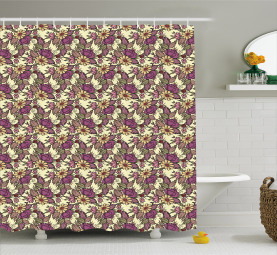 Flourishing Gardens Shower Curtain