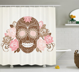 Roses and Thorns Shower Curtain