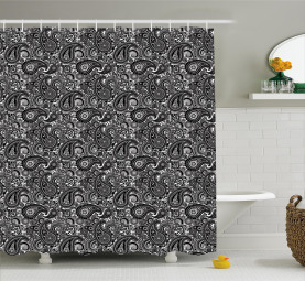 Lace Like Traditional Shower Curtain