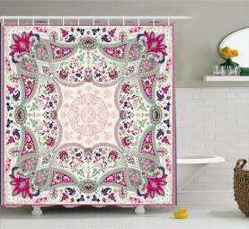 Ornamental Square Shower Curtain
