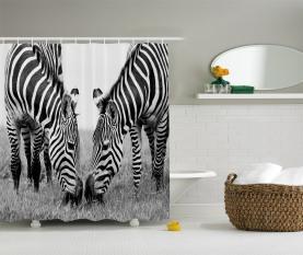 Afrikanischer wild lebender Burchell Duschvorhang