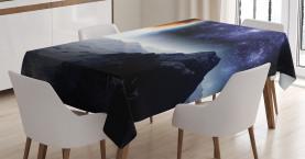 Science Fiction Natur Tischdecke