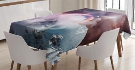 Fantastische Landschaft Kunst Tischdecke