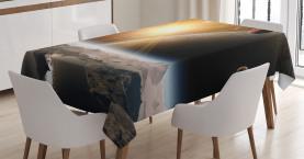 Monde Universum Erde Tischdecke