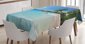 Anse Lazio Beach Surf Tischdecke
