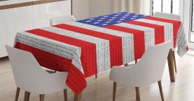 Amerikanisches Freiheitsthema Tischdecke