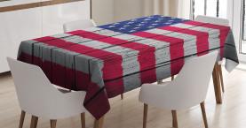 Juli Vierter Tag der Freiheit Tischdecke